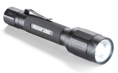 Pelican 2380 Instant Spot to Flood Tactical LED Flashlight - Black