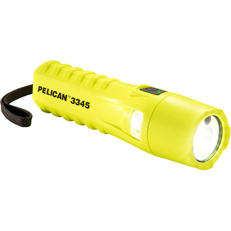Pelican 3345 LED Flashlight with Variable Lighting Output - Yellow
