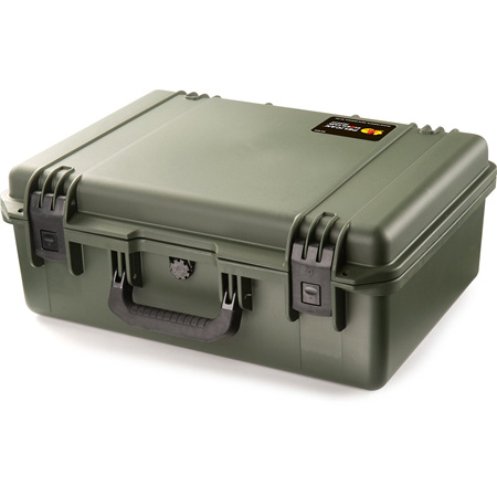 Pelican iiM2600 OD Green Storm Case with Padded Dividers
