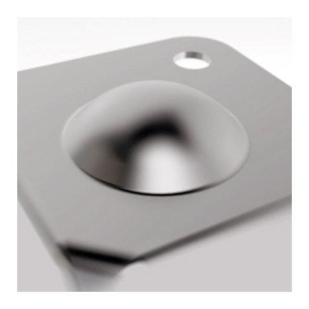 Penn-Elcom 1033 6-Hold Flat Corner with Male Stacking Corner