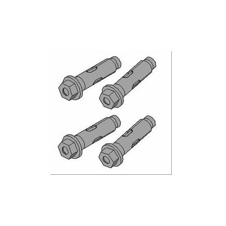 Peerless-AV ACC210 Concrete Fastener Kit 4 Anchors