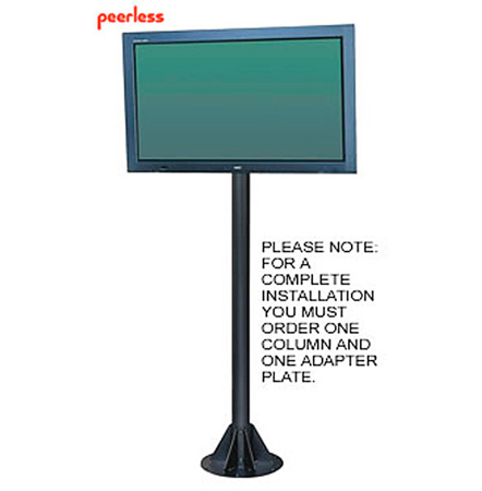 Peerless COL710P 7 Ft. Large Flat Panel Pedestal Column Pedestal Only