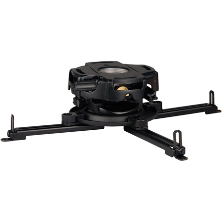 Peerless PRG-UNV PRG Projector Mount w/Spider Universal Adapter Plate - Black