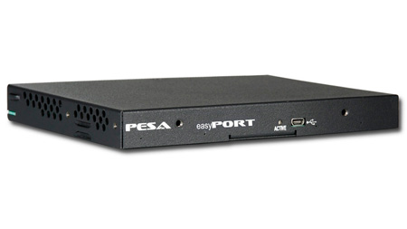 PESA EASY-4ADX4F Easyport - 4 SD Analog In To 4 Fiber Out