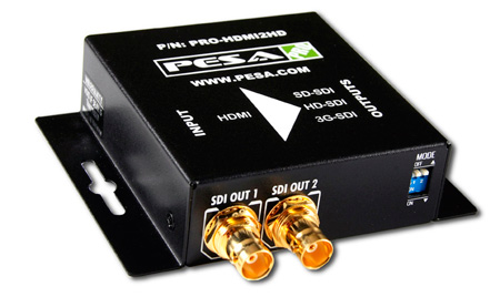 PESA PRO-HDMI2HD HDMI To SD/HD/3G SDI Converter