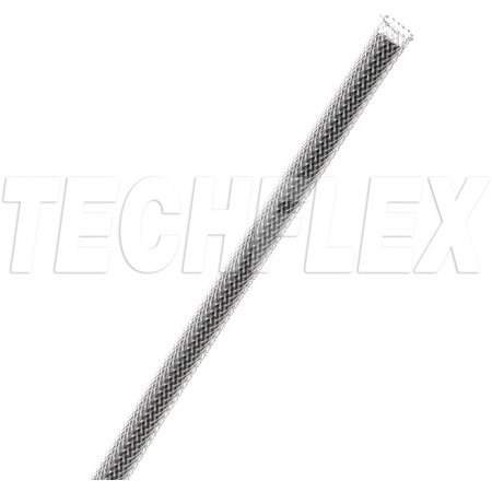 Techflex Flexo 1/8In-7/16In Expandable Tubing Clear 100 Foot Roll