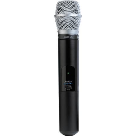 Shure PGXD2/SM86 Handheld Transmitter with SM86 Microphone