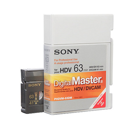 Sony Digital Master Mini Cassette Tape 40/63min