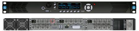 Phabrix PHRX1000A Rx Rasterizer 1U 19 Inch RM Chassis - Includes PHRXM-A Analyzer Module