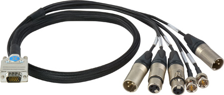 Phabrix PHSXC-1 D15 Break Out Analogue Audio Cable