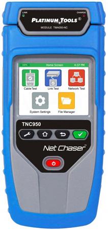 Platinum Tools TNC950AR Net Chaser Ethernet Speed Certifier with Shoulder Bag - Li-Ion