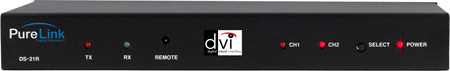 PureLink DS-21R (2) DVI Inputs to (1) DVI Output Switcher