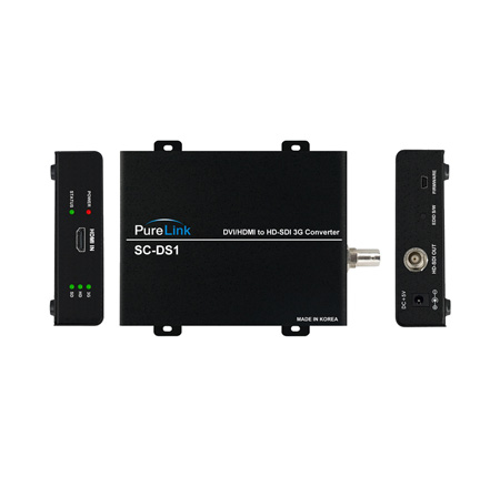 PureLink SC-DS1 HDMI/DVI to 3G/HD-SDI Output Format Converter