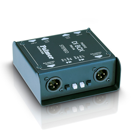 Palmer Audio PAN04 DI Box 2-channel passive