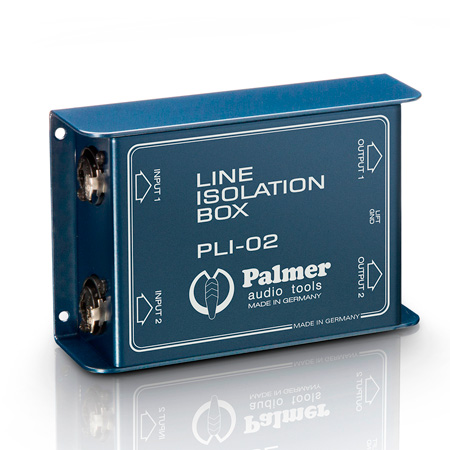 Palmer Audio PLI02 Line Isolation Box 2 Channel