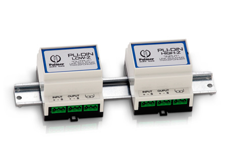 Palmer Audio PLIDINHIGH Dual Channel Line Isolator (Input)