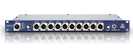 Palmer Audio PPB10 Press Patch Box 10-channel