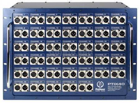 Palmer Audio PTIX40 Passive Splitter 40-channel Amphenol