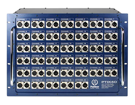 Palmer Audio PTIX40N Passive Splitter 40-channel Neutrik