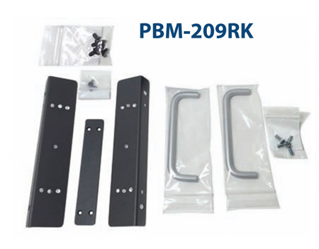 Plura PBM-209RK - Fixed Rack Mount for 9 Inch Plura Monitor