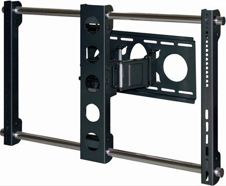 Bentley PLW-106B Articulating LCD Plasma 32 - 63 Inch Wall Mount (Black)