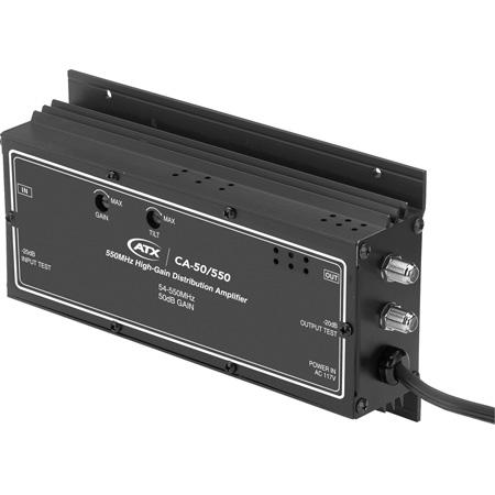 Pico Digital CA-50/550 550MHz CATV High-Gain Headend Distribution Amplifier