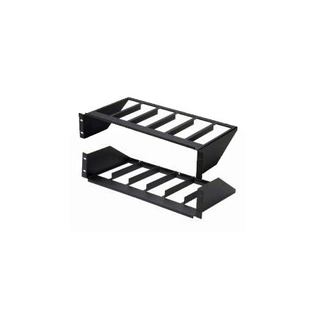 Pico Macom MOR-S6 Rack Mount Vertical Rack Shelf (2.8 Inch x 6 units)