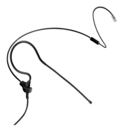 Point Source Audio CO-6-KIT-SE-BL OMNI Earset Mic Sennheiser EW. Black.