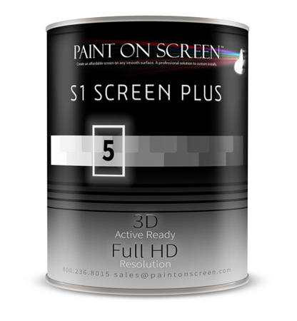 Paint On Screen - S1 Screen Plus Paint - Silver - 1 Gallon