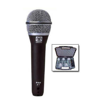 Superlux Handheld Super Cardioid Mic 5pk w/Carry Case & Mic Holders