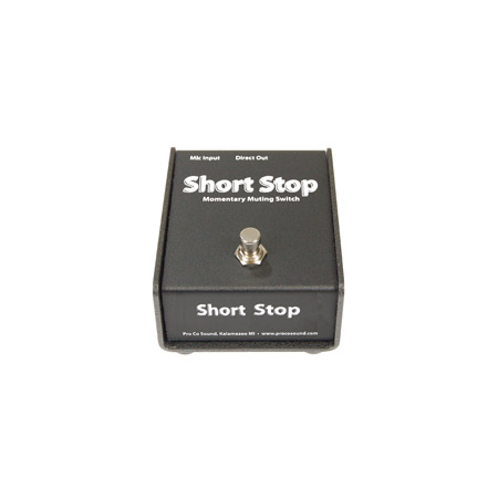 ProCo CDSS Short Stop Passive Momentary Mic Muting Switch