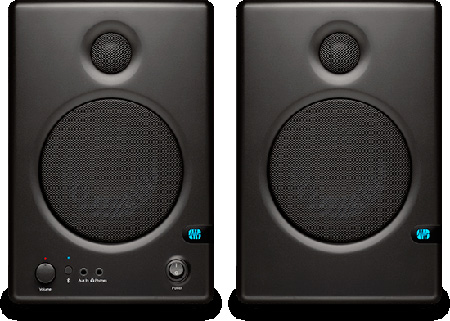 PreSonus Ceres C4.5 BT High-Definition 2-Way 4.5 inch Near Field Studio Monitor w/ Bluetooth (PAIR)