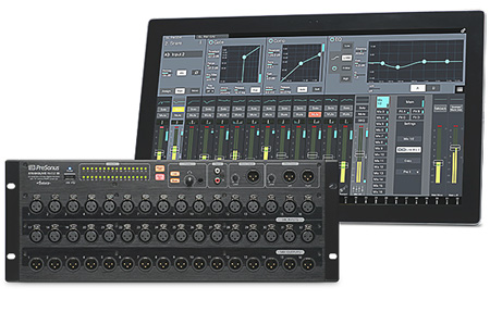 Presonus StudioLive RM32AI 32-Channel Touch-Software Controlled Digital Mixer