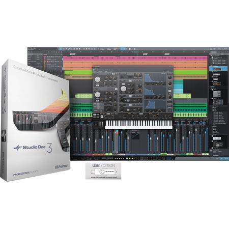 Presonus Studio One 3 Professional: Box + License