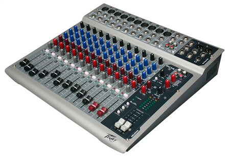 Peavey PV14USB Compact 10 Input Audio Mixer with USB