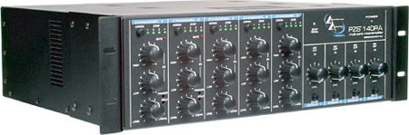 Peavey PZS140RA Versatile Matrix 35 Watt Output/Zone Mixer/Amplifier