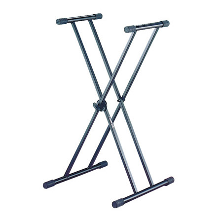 Quik-Lok T-20 Full Sized Single Tier X Keyboard Stand