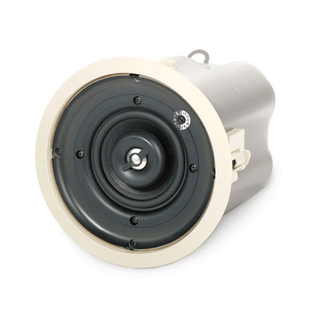 QSC AD-C42T Ceiling Speaker - 4in Weather-resistant - 2 Way - Pair