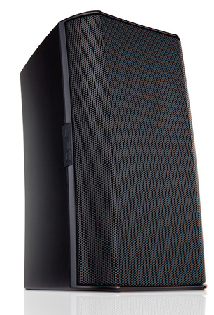 QSC AD-S6T-BK Two-way 6.5 Inch Surface Mount Weather-resistant Loudspeaker- Black - Pair