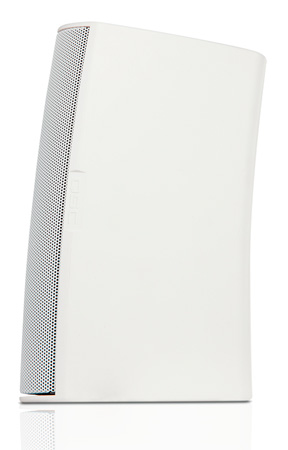 QSC AD-S6T-WH Two-way 6.5 Inch Surface Mount Weather-resistant Loudspeaker- White - Pair