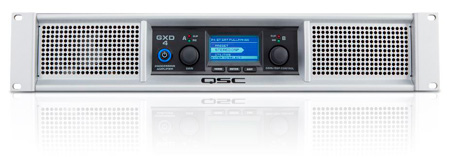 QSC GXD 4 Professional 400 Watt Class-D Power Amplifier with DSP