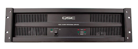 QSC ISA Series 25/70/100 Volt & 4/8 Ohm Power Amp 300 Watts @ 70V
