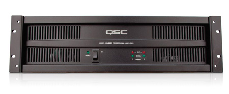 QSC ISA Series 25/70/100 Volt & 4/8 Ohm Power Amp 800 Watt @ 70V