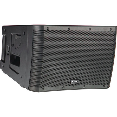 QSC KLA12-BK 500W x 500W Two-way Active Line-array Loudspeaker - Black