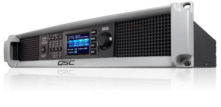 QSC PLD4.3 Processing Amplifier - 1400 W x 4 CH