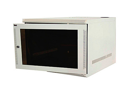 Quest WM1019-05-01 100 Series Wall Mount Enclosure - 5U Ivory