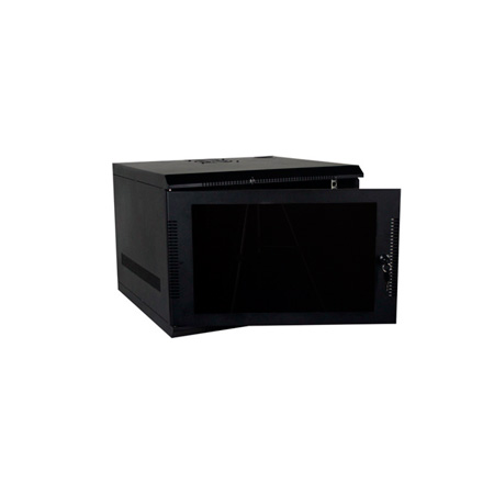 Quest WM1019-07-02 100 Series Wall Mount Enclosure - 7U Black