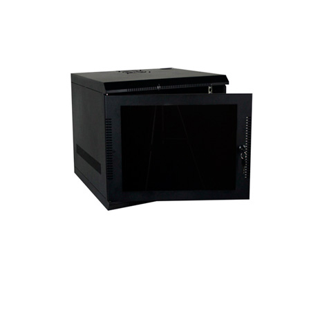 Quest WM1019-09-02 100 Series Wall Mount Enclosure - 9U Black