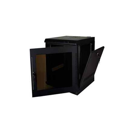 Quest WM2019-11-02 200 Series Wall Mount Enclosure - 11U Black