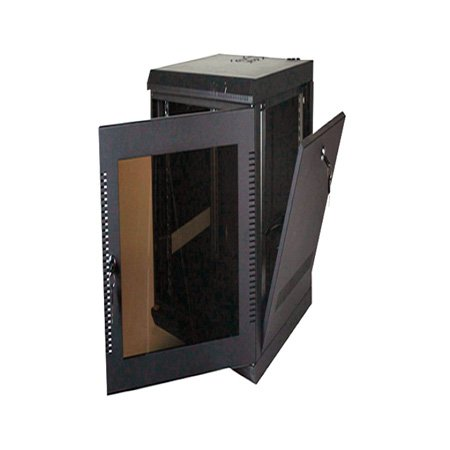 Quest WM2019-20-02 200 Series Wall Mount Enclosure - 20U Black